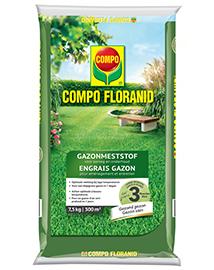 COMPO Floranid Gazonmeststof Aanleg & onderhoud 300m²