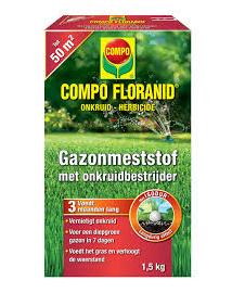 Compo Floranid Gazonmest met Onkruidbestrijder 1,5 kg