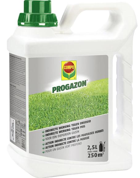 Compo Progazon met indirecte werking tegen onkruid en mos 250m²