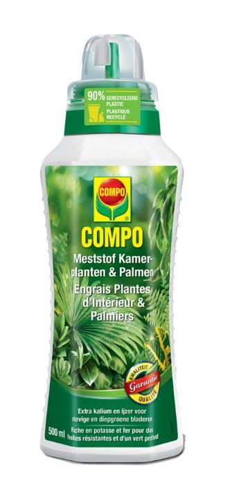 Compo Vloeibare meststof voor kamerplanten 500 ml