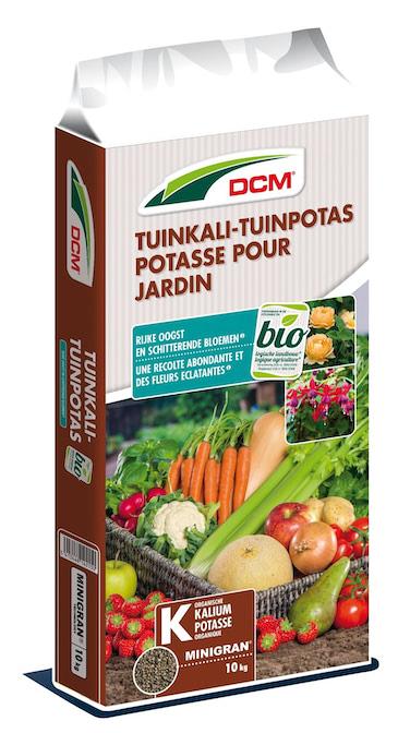 DCM Bio Tuinkali - Tuinpotas kalium 10Kg
