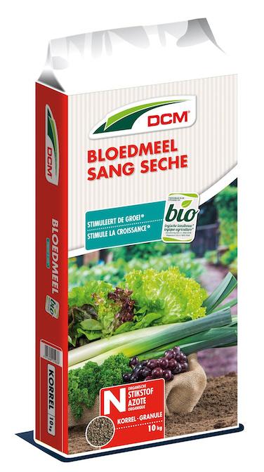 DCM Bloedmeel als natuurlijke bron van stikstof 10kg