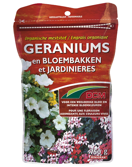 DCM Meststof Geraniums & Bloembakken 750g