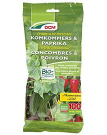 DCM Meststof Komkommers en paprika 200g