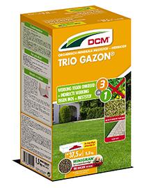 DCM Meststof Gazon Trio tegen mos en onkruid 1,5kg