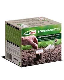 DCM Bodemanalyse test kit voor gazon, siertuin en moestuin