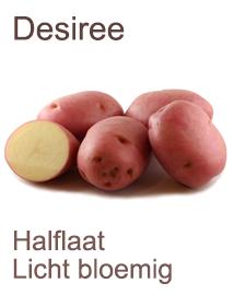 Pootaardappelen Desiree 1kg