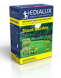 Dinet Garden tegen onkruiden in jonge gazons 80ml