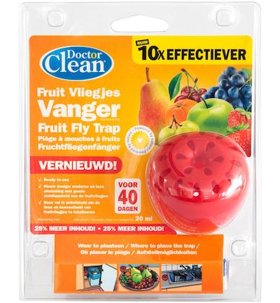 Doctor Clean Fruitvliegjesval voor 40 dagen