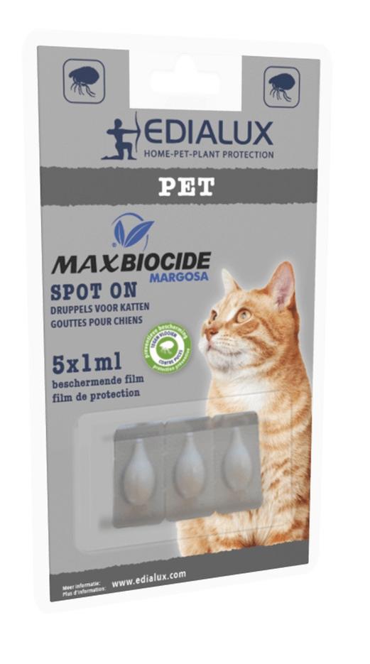 Druppels tegen teken en vlooien voor katten