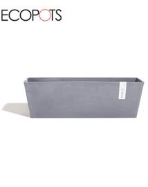 ECOPOTS Bruges Bloembak uit kunststof Bluestone 55x17x17cm