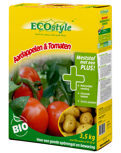 Ecostyle Meststof Aardappelen & Tomaten 3,5Kg