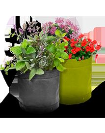 Ecostyle JardiMini Groeizak en Plantentas 40L