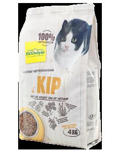Ecostyle Kattenvoeding VitaalCompleet Kip 4Kg