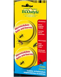 Ecostyle Mierenlokdoos Binnen of buiten 2 stuks