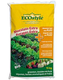 Ecostyle Moestuin extra Groenten- en fruitboommest 15 kg