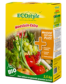Ecostyle Moestuin extra moestuinmest 3,5 kg