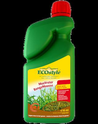 Ecostyle MosVreter tegen mos in het gazon 510ml