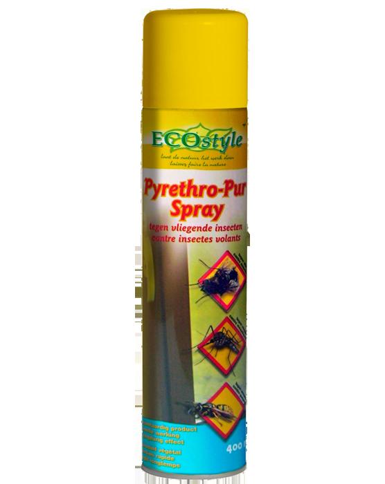Pyrethro Pur Spray tegen vliegende insecten 400ml