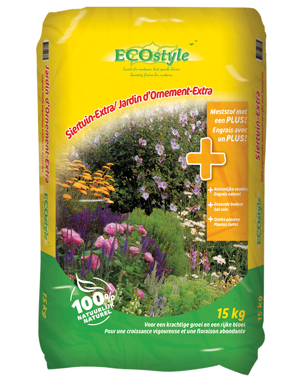 Ecostyle Meststof Siertuin extra 15Kg
