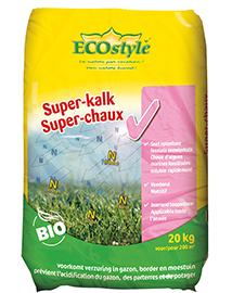 Ecostyle Super-kalk kalkkorrels 20kg