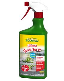 Ecostyle Ultima Quick spray Onkruidverdelger zonder glyfosaat 750ml