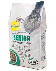 Ecostyle Kattenvoer VitaalCompleet Senior 4Kg