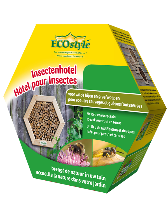 Ecostyle Insectenhotel wilde bijen & graafwespen