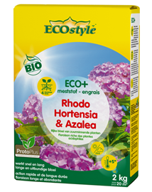 Ecostyle Rhododendron en Hortensia Meststof 2 Kg
