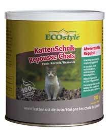 Ecostyle kattenschrik korrels Katten weren uit tuin 700g