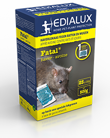 Edialux Fatal Haver Muizen- en rattengif 500g