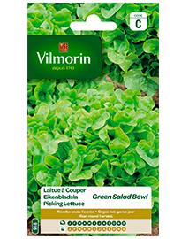 Vilmorin Eikenbladsla zaden Groene Eikeblad 4g