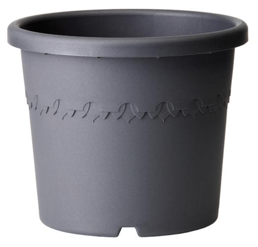 Elho algarve cilindro 25cm antraciet