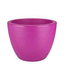 Elho Pure Soft Round 40cm Wheels Fuchsia