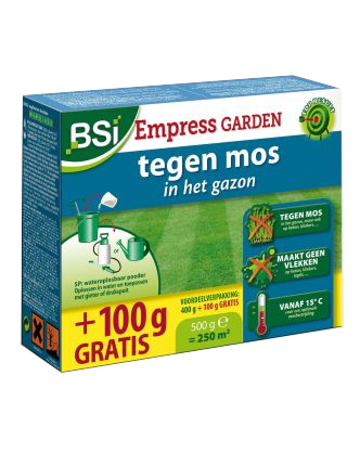 Empress Garden tegen mos in gazon en op terras 400+100g