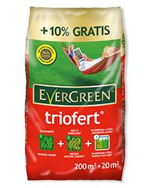 Evergreen Triofert Gazonmest na verticuteren 200+20m²