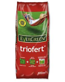 Evergreen Triofert Gazonmest na verticuteren 100m²