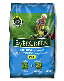 Evergreen 2 in 1 Anti-mos + Gazonmest 200m²
