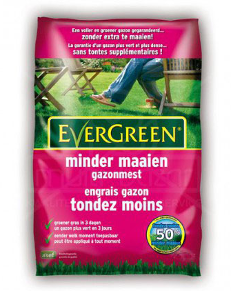 Evergreen Minder Maaien 250 m²