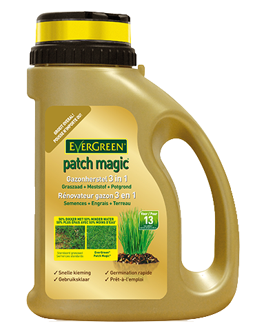Graszaden Evergreen Patch Magic Gazonherstel 4 in 1 1Kg