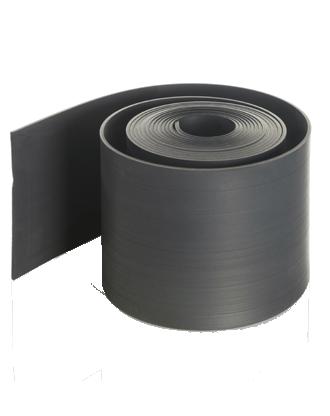 Ecorub® Afboording voor gazon uit rubber 15m x 15cm