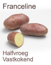 Franceline pootaardappelen 1kg