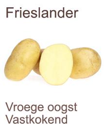 Pootaardappelen Frieslander 2,5kg