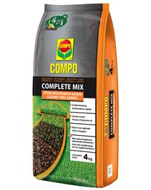 Herstellen van beschadigd gazon | Compo Complete mix 4 in 1 | 4kg