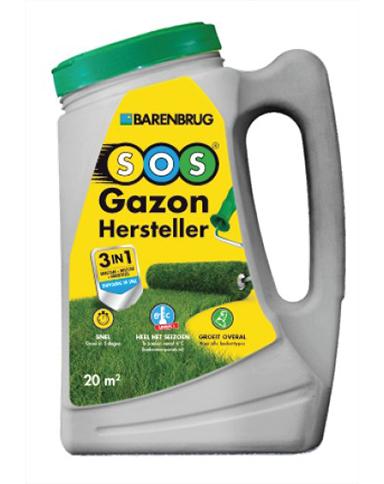 Barenbrug Graszaad Gazon Hersteller 3 in 1 1,5kg