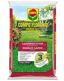 COMPO Floranid Gazonmest met Onkruidbestrijder 250m²