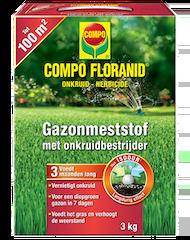 COMPO Floranid Gazonmest met Onkruidverdelger 3kg