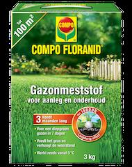 COMPO Floranid Gazonmeststof Aanleg & onderhoud 3kg