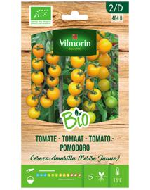 Biologische tomatenzaden Cereza Amarilla - Cerise Jaune 0,15g