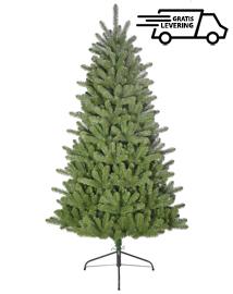Hoge goedkope kunstkerstboom Green Spire 213cm